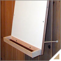 Single-Sided Easels