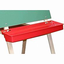 Red Plastic Paint Tray