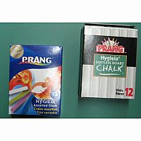 Prang Chalk, colored