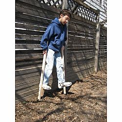 Stilts - Traditional Wooden Stilts