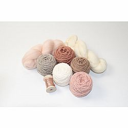 Weaving Yarn Pack - Shades of Rose