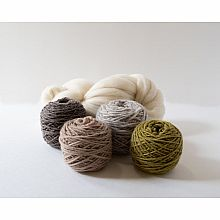 Weaving Yarn Pack - Fresh Moss & Tree Bark