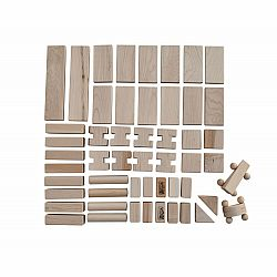 52 piece Little Builder Whimsie Block Set