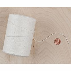 Warp Yarn for Weaving - Ivory