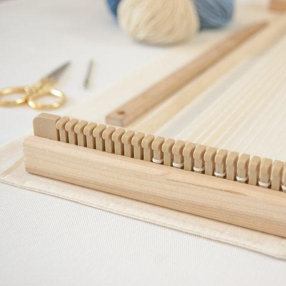 A Weaving Frame & Weaving Kit (14\