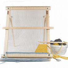 "20"" Weaving Frame Loom with Stand - The Deluxe!"