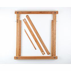20 Inch Weaving Frame Loom with Stand - The Deluxe - CHERRY!
