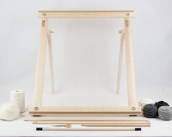 A Weaving Frame with Stand (20\