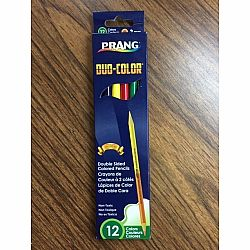 Prang Colored Pencils, 12 Colors