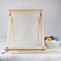 20 Inch Weaving Frame Loom with Stand - The Deluxe!