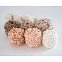 Weaving Yarn Pack - Peachy Keen